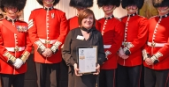 Rangers-Football-Club-Anne-Boyle-with-Coldstream-Guards