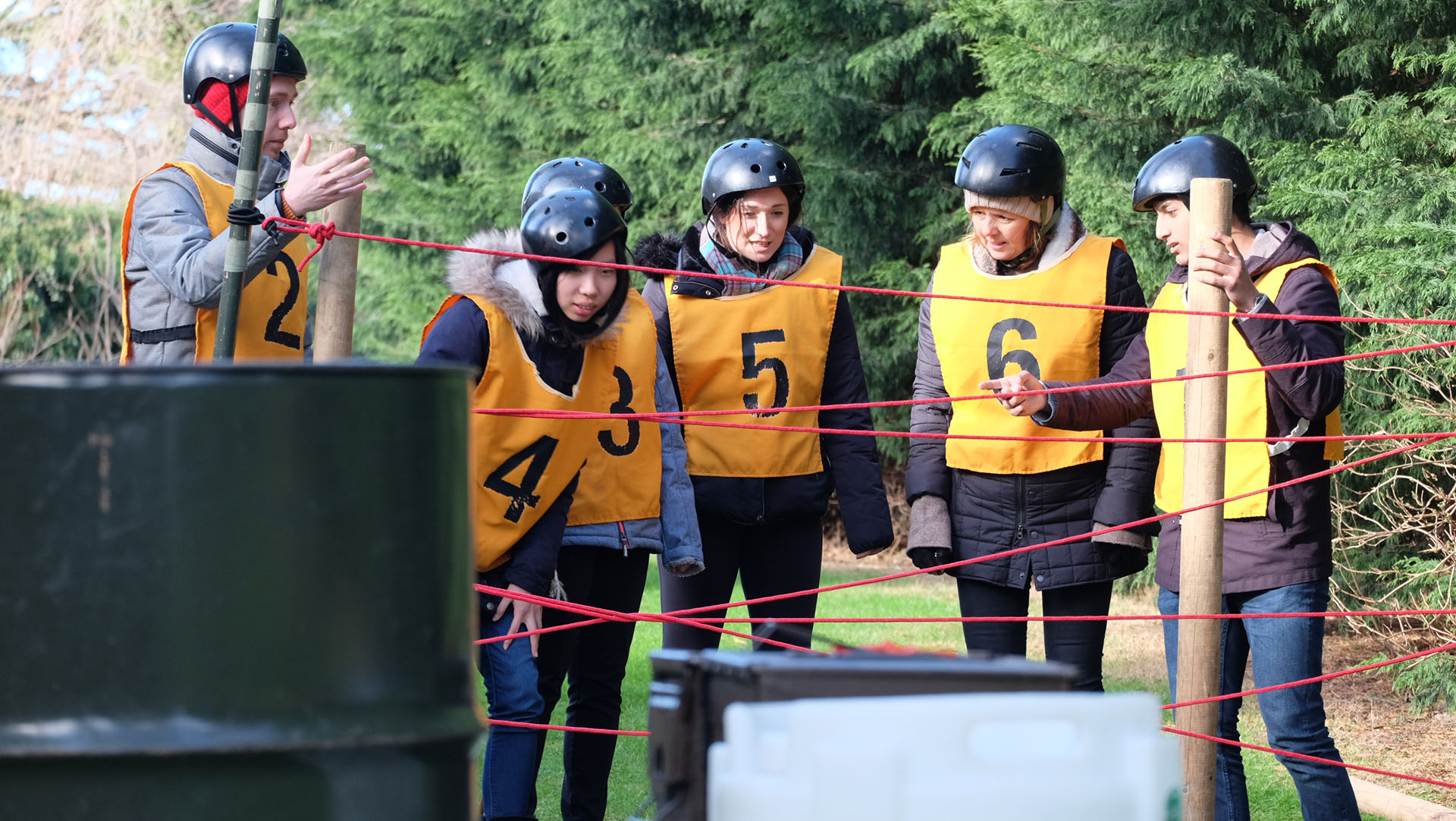 Team participating in Exercise Deep Heat