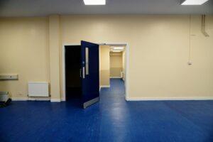 Interior Shot of Drill Hall